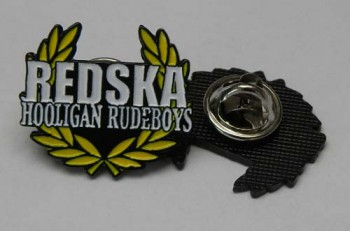 REDSKA HOOLIGAN RUDEBOY PIN