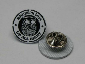 NORTHERN SOUL UP ALL NIGHT PIN