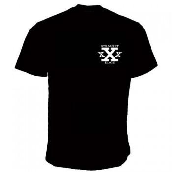 STRAIGHT EDGE TRIPLE X T-SHIRT (6 colors)
