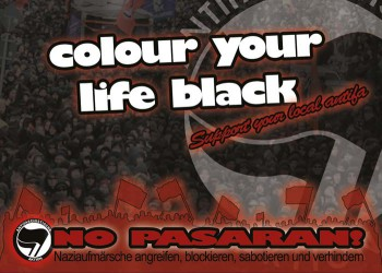 COLOUR YOUR LIFE BLACK STICKER (10 STÜCK)