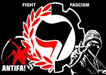 FIGHT FASCISM ANTIFA STICKER (10 units)