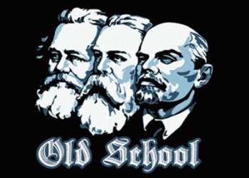 MARX,ENGELS,LENIN OLD SCHOOL AUFKLEBER (10 STÜCK)