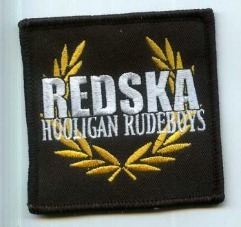 REDSKA HOOLIGAN RUDEBOYS PATCH