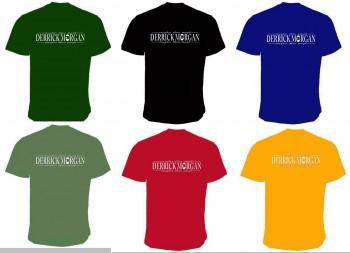 DERRICK MORGAN T-SHIRT FLOCK (6 Farben)