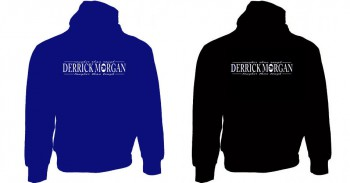 DERRICK MORGAN HOOD FLOCK (2 colours)