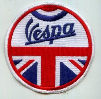 VESPA UNION JACK PATCH