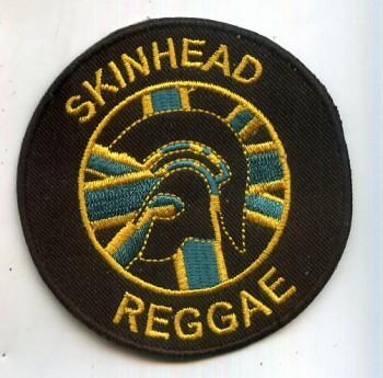 SKINHEAD REGGAE JAMAICA PATCH