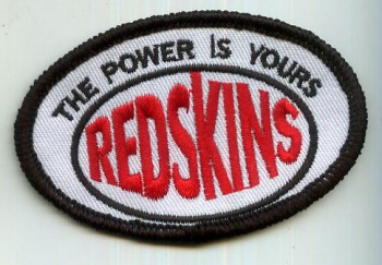 REDSKINS THE POWER IS YOURS PATCH
