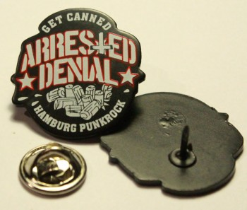 ARRESTED DENIAL GET CANNED PIN