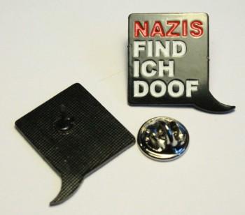 NAZIS FIND ICH DOOF PIN