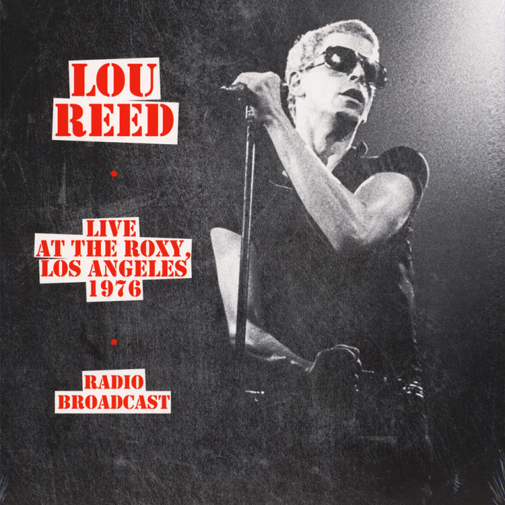 Lou Reed Live At The Roxy Los Angeles 1976 LP