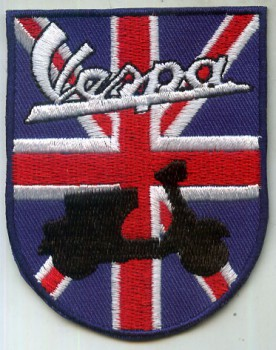 VESPA BRITISH SCOOTER PATCH