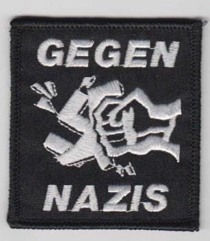 GEGEN NAZIS PATCH
