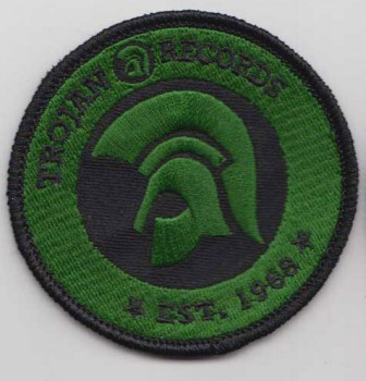 TROJAN RECORDS SINCE 1968 PATCH (GREEN)