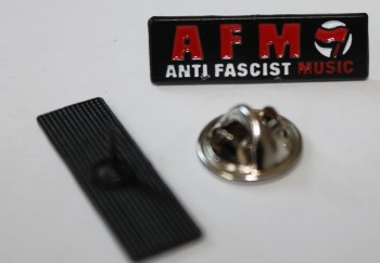 ANTI FASCIST MUSIC PIN