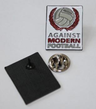 AGAINST MODERN FOOTBALL PIN