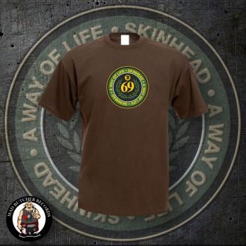 SKINHEAD A WAY OF LIFE T-SHIRT XL / brown