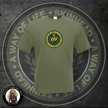 SKINHEAD A WAY OF LIFE T-SHIRT XL / OLIVE