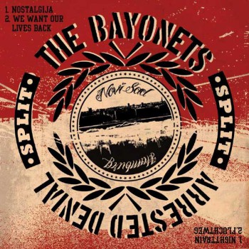 ARRESTED DENIAL/BAYONETS SPLIT EP