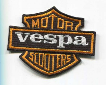 VESPA MOTOR SCOOTERS PATCH