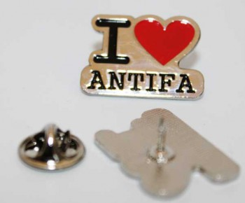 I LOVE ANTIFA PIN