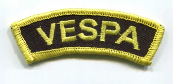 VESPA BANNER PATCH