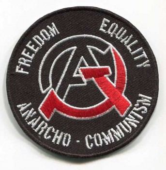 ANARCHO COMMUNISM PATCH