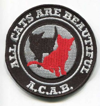 ACAB (ALL CATS ARE BEAUTIFUL) PATCH