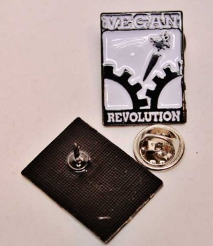 VEGAN REVOLUTION PIN