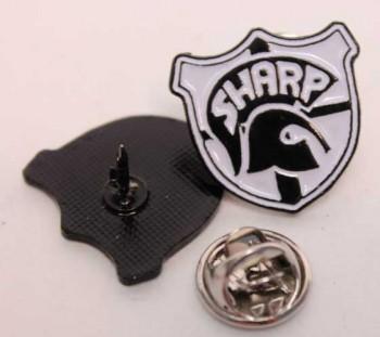 SHARP EMBLEM PIN