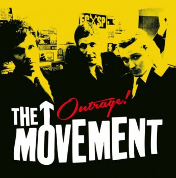 THE MOVEMENT OUTRAGE EP (black wax)