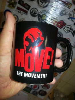 THE MOVEMENT KAFFEEBECHER