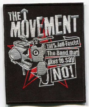 THE MOVEMENT THE BAND THAT LIKES TO SAY NO PATCH