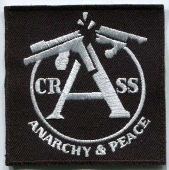 CRASS BLACK PATCH