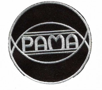 PAMA RECORDS WEISS PATCH