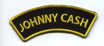 JOHNNY CASH BANNER PATCH