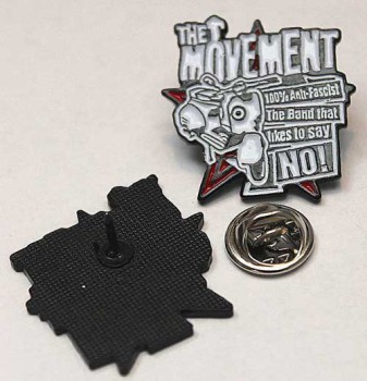 THE MOVEMENT THE BAND THAT LIKES TO SAY NO PIN