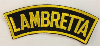 LAMBRETTA BANNER PATCH