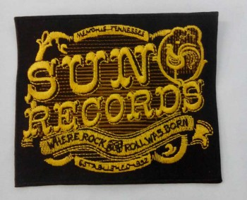SUN RECORDS ROCK`N`ROLL PATCH