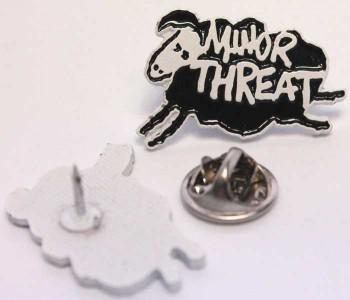 MINOR THREAT SHEEP PIN