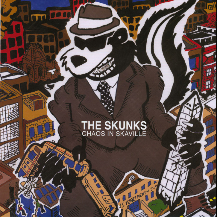 THE SKUNKS CHAOS IN SKAVILLE LP