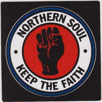 NORTHERN SOUL KEEP THE FAITH PVC AUFKLEBER