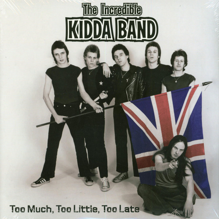 Incredible Kidda Band Too Much, Too Little, Too Late 2LP
