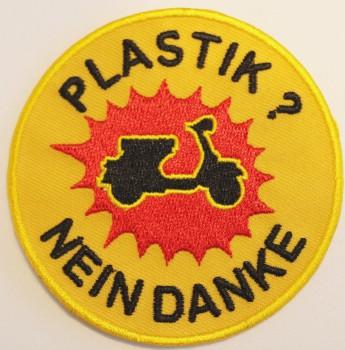 VESPA PLASTIK NEIN DANKE PATCH