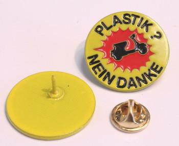 VESPA PLASTIK NEIN DANKE PIN