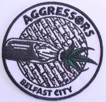 AGGRESSORS BC BELFAST CITY PATCH