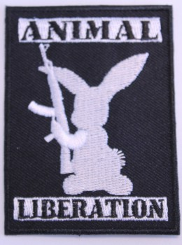 ANIMAL LIBERATION RABBIT PATCH