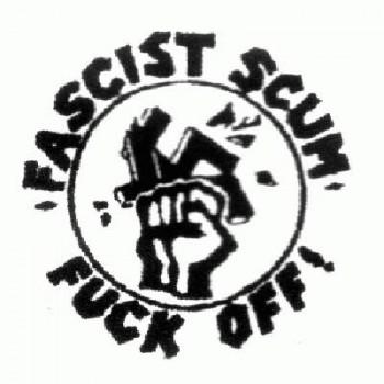 Antifa - Fascist Scum fuck off