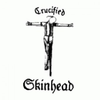 OI BUTTONS - Crucified Skinhead