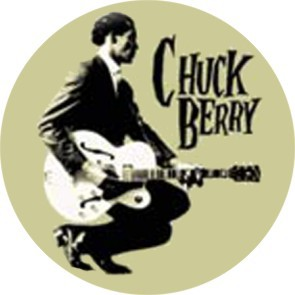 CHUCK BERRY BUTTON